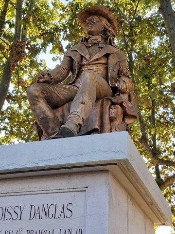 Décapage Statue en bronze à Annonay